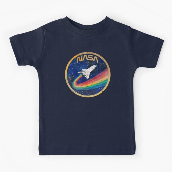 USA Space Rainbow Kids T-Shirt