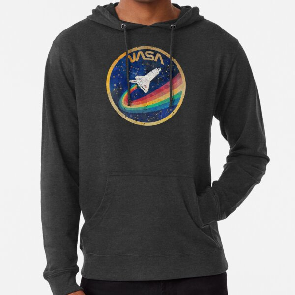 USA Space Rainbow Lightweight Hoodie