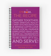 SymBowl The Recipe Spiral Notebook