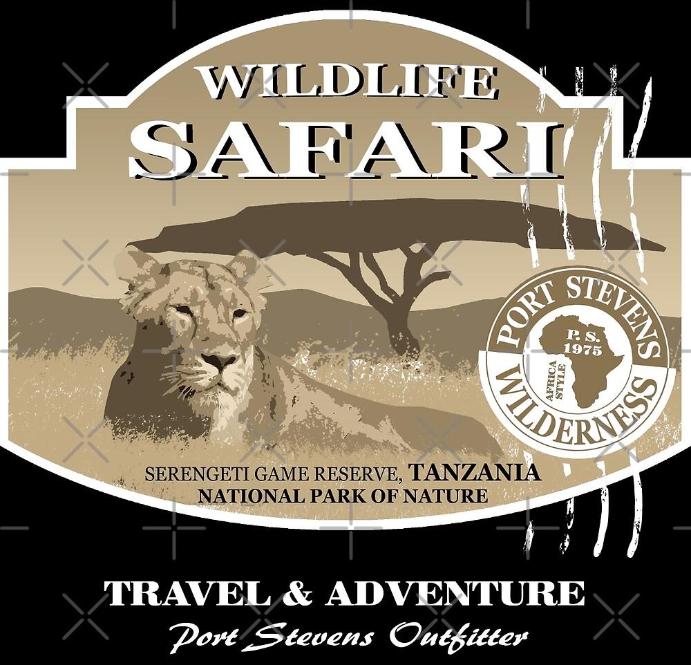 Lion Safari by Port-Stevens