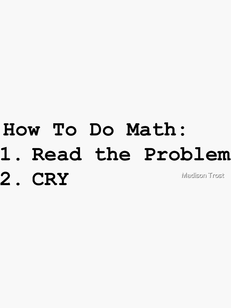 Math Problems by ILYstickers234