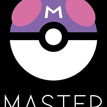 Minimalist Master Ball by MagentaBlimp