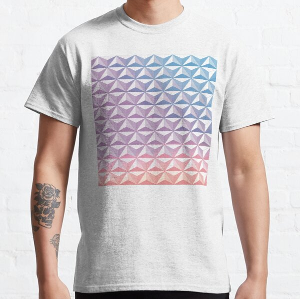 Geodesic Sphere, Purple Classic T-Shirt