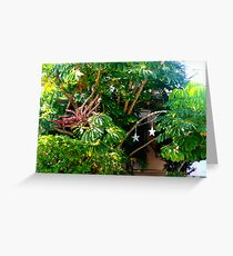 Lush foliage  Greeting Card