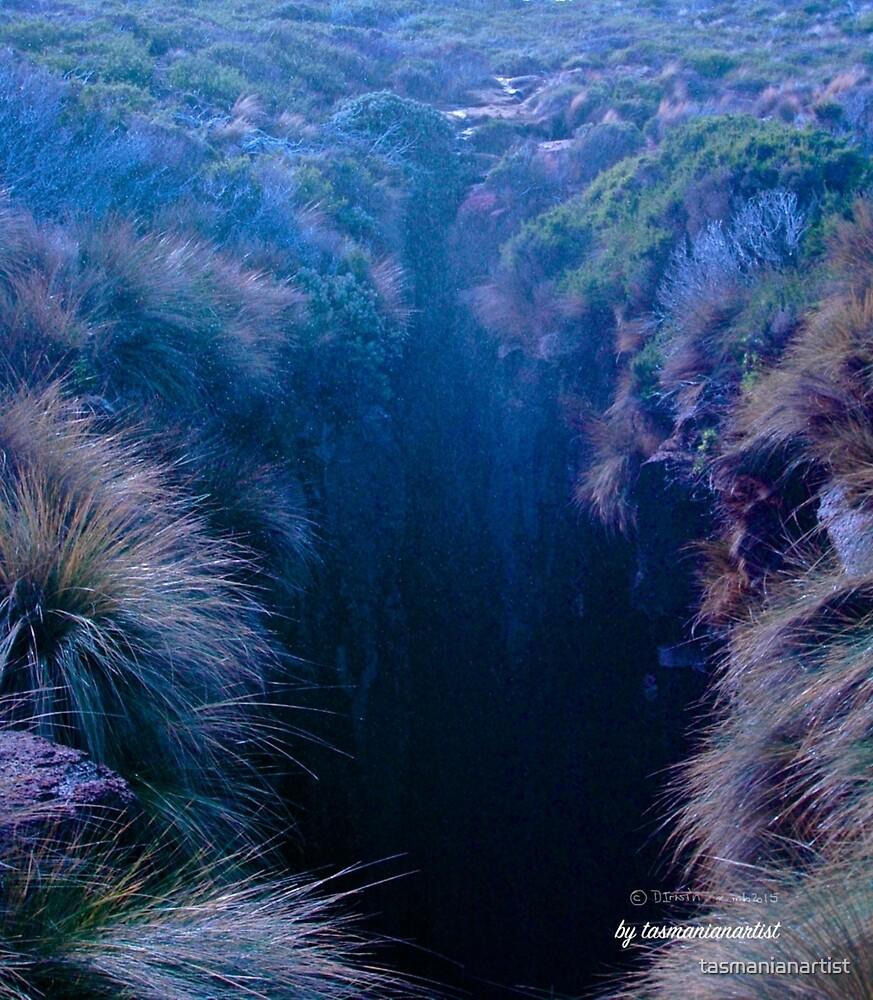 TASMAN PENINSULA ~ Maingon Blowhole by tasmanianartist by tasmanianartist