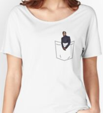 Kevin in a Pocket Women's Relaxed Fit T-Shirt