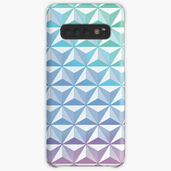 Geodesic Sphere, Blue Samsung Galaxy Snap Case