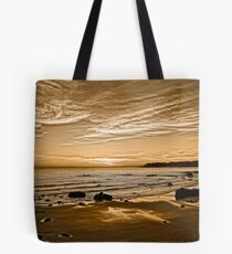 Sunset On The Central Coast OF Calif Tote Bag