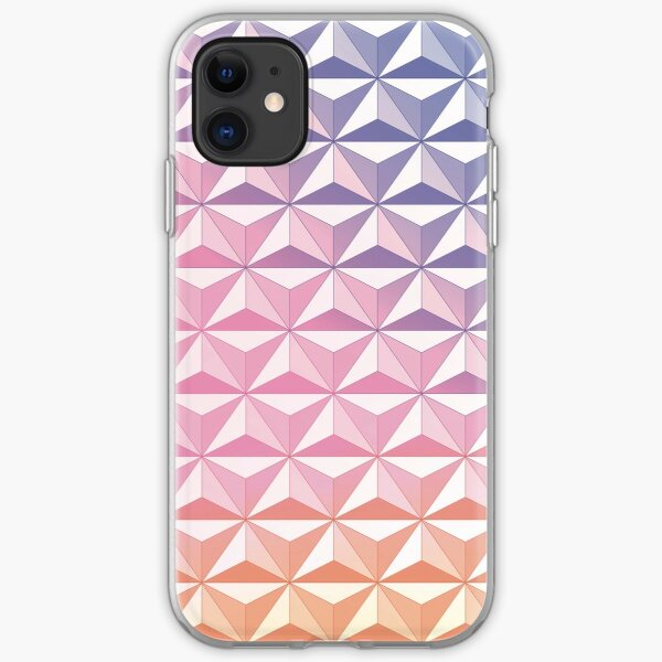 Geodesic Sphere, Pink iPhone Soft Case
