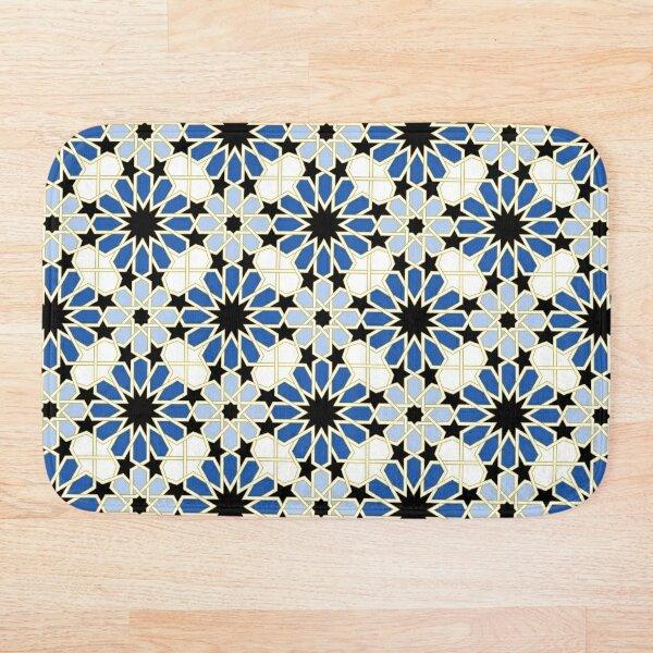 Arabic tile IV (1) Bath Mat