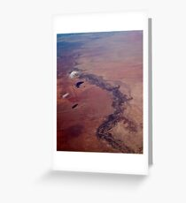 From the Air I Greeting Card