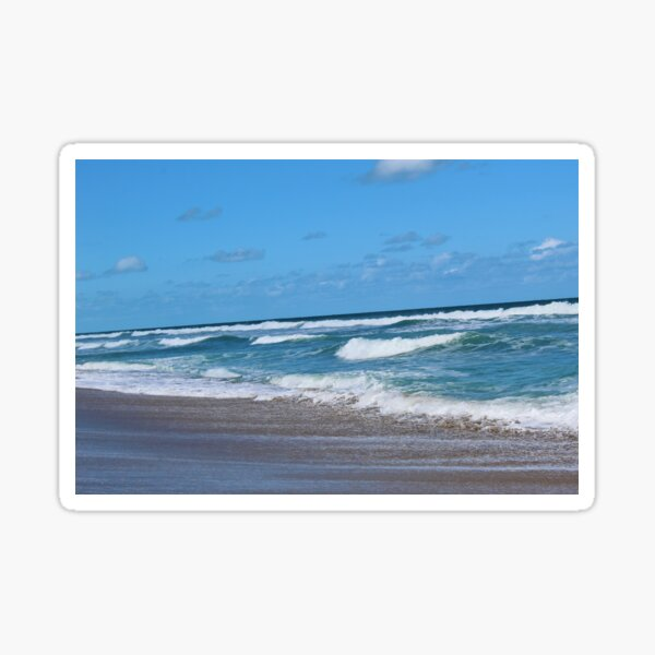 Tropical Afternoon on the Beach Sticker