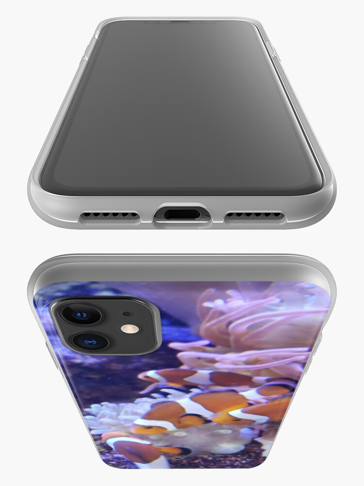 Alternate view of clownfish iPhone Case & Cover