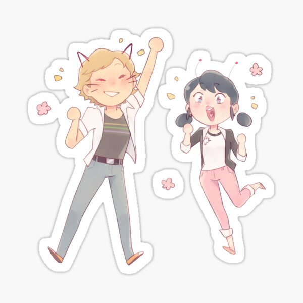 cute adrinette  Sticker