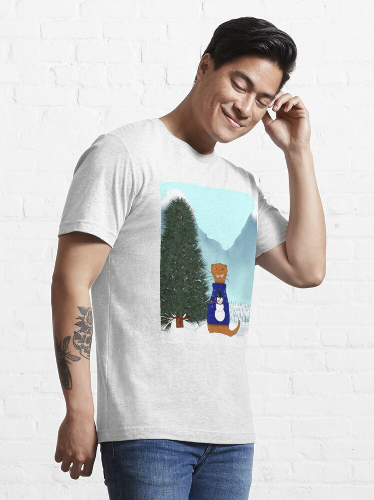 Alternate view of Oliver Finds His Christmas Tree Essential T-Shirt
