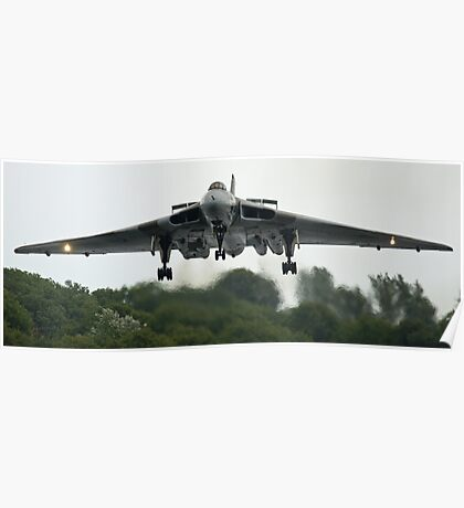 XH-558 Coming In (viewed 114 times) Poster