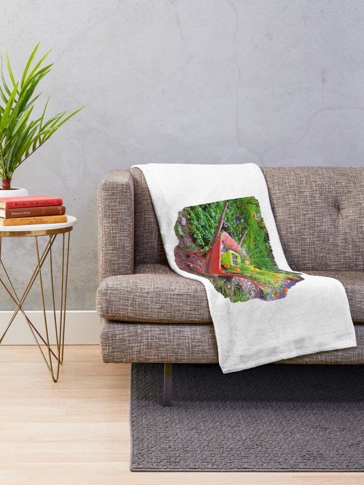Alternate view of Recycled Planter Throw Blanket