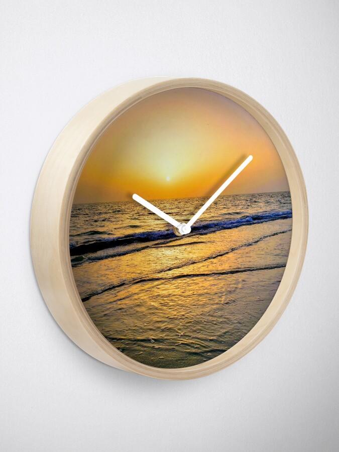 Alternate view of Summer Florida Sunset Clock