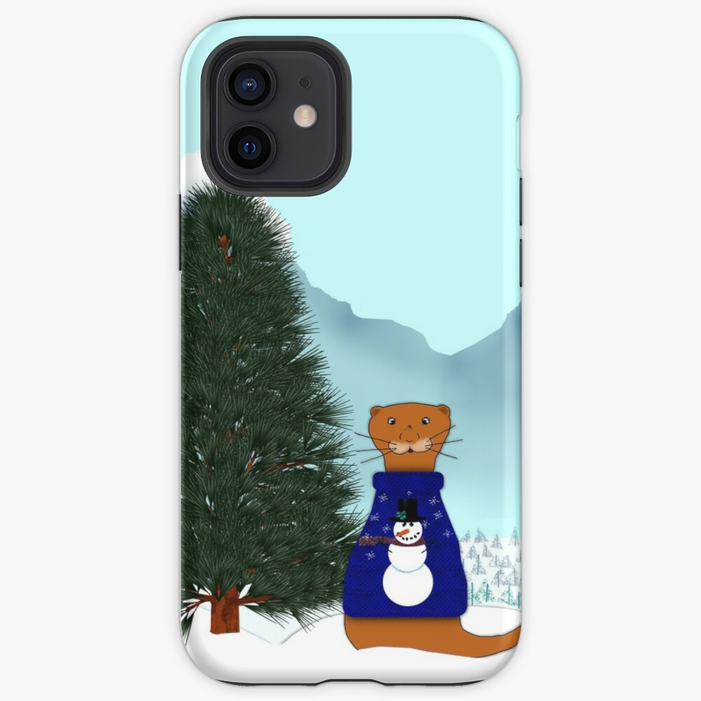 Oliver Finds His Christmas Tree iPhone Case & Cover