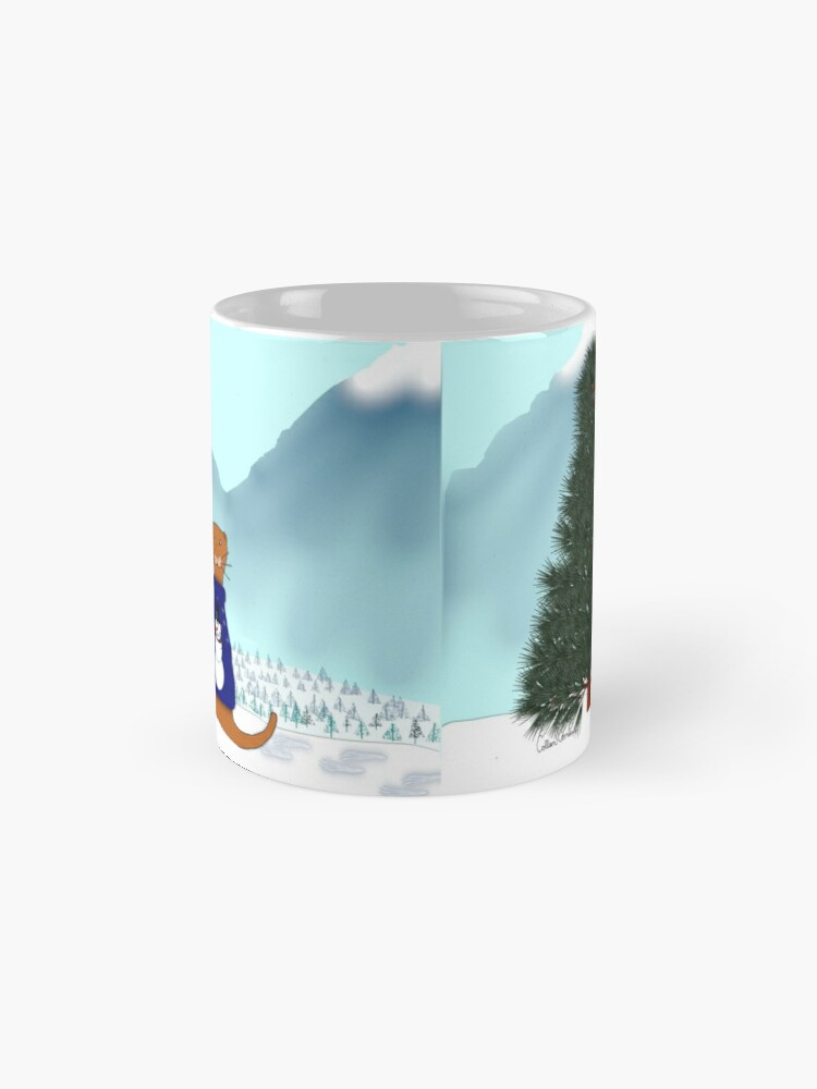 Alternate view of Oliver Finds His Christmas Tree Mug