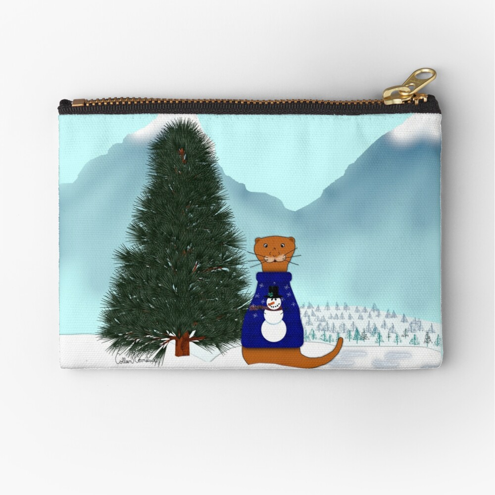Oliver Finds His Christmas Tree Zipper Pouch