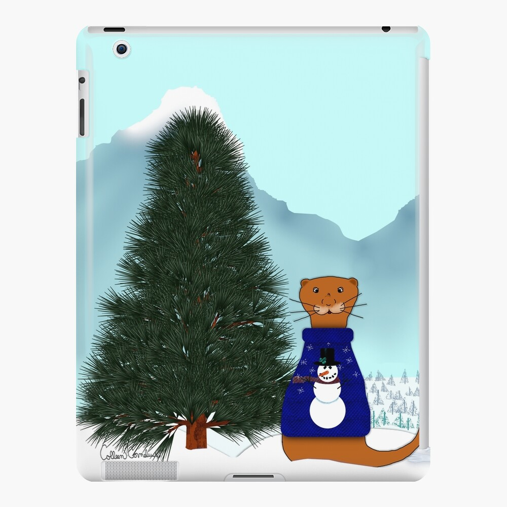 Oliver Finds His Christmas Tree iPad Case & Skin