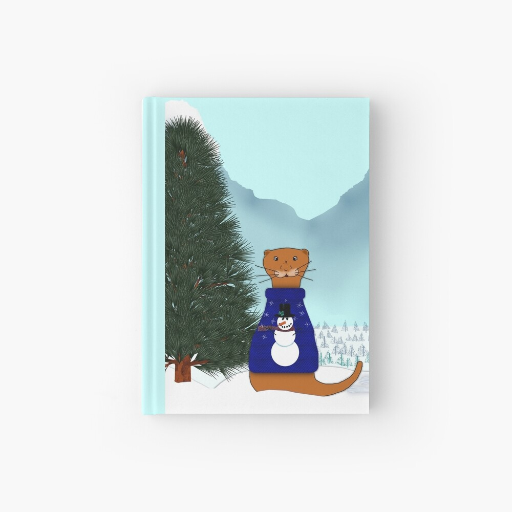 Oliver Finds His Christmas Tree Hardcover Journal
