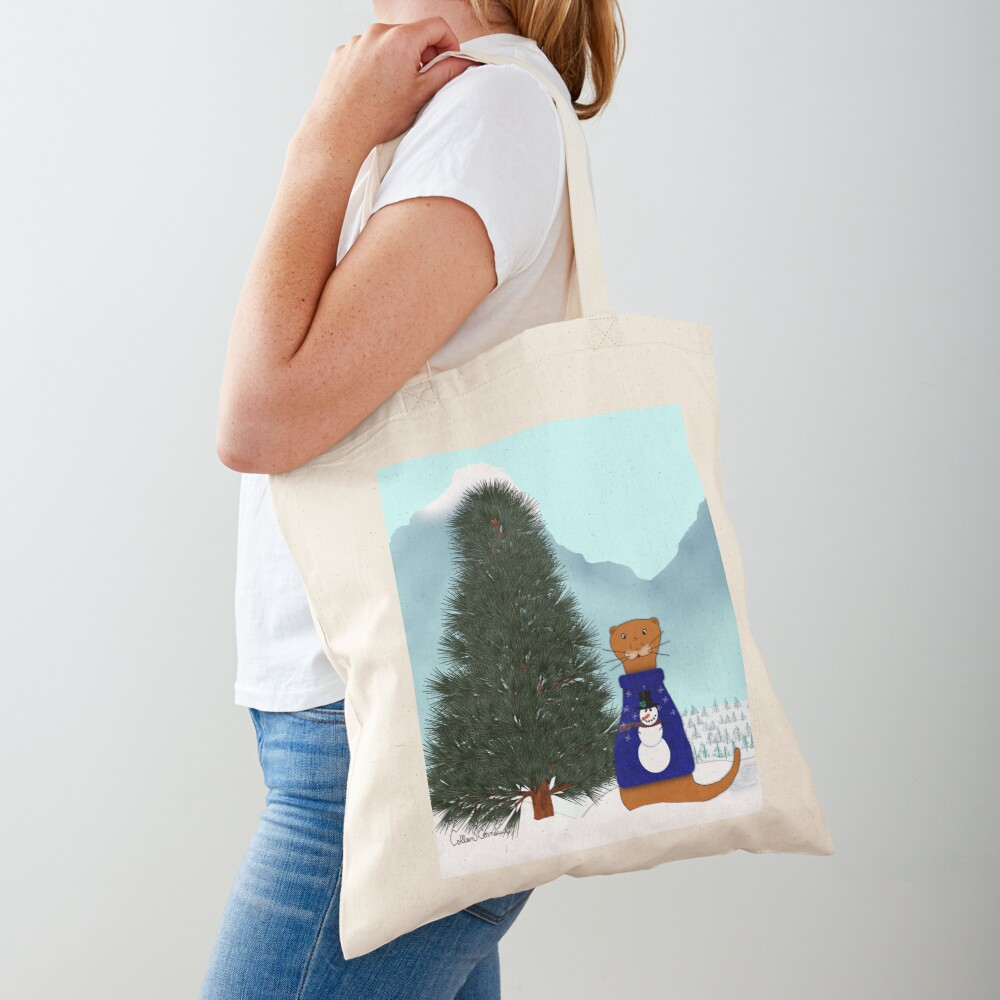 Oliver Finds His Christmas Tree Tote Bag