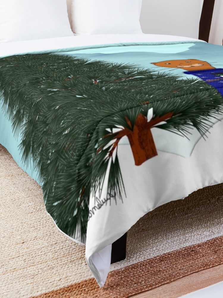 Alternate view of Oliver Finds His Christmas Tree Comforter