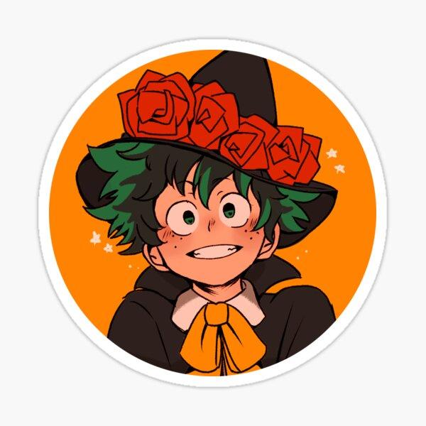 halloween deku Sticker