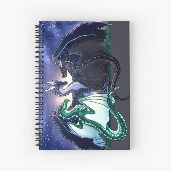 Wings of Fire - Legends - Fathom, Darkstalker, Clearsight Spiral Notebook