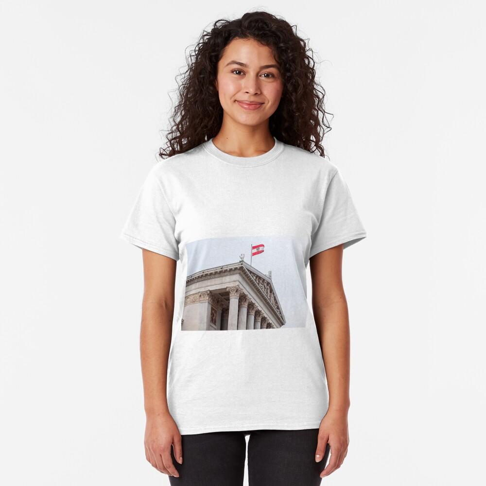 Austrian Parliament. Classic T-Shirt