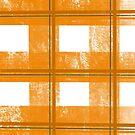 Orange and White Plaid by Samm Poirier