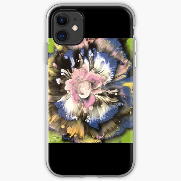 Pink Orchid iPhone Soft Case