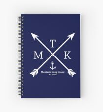 MTK with Cross Arrows  Spiral Notebook