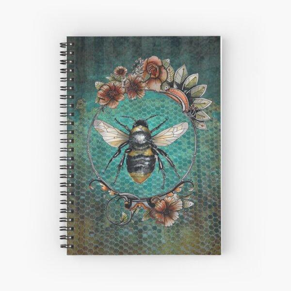 Bee queen  Spiral Notebook