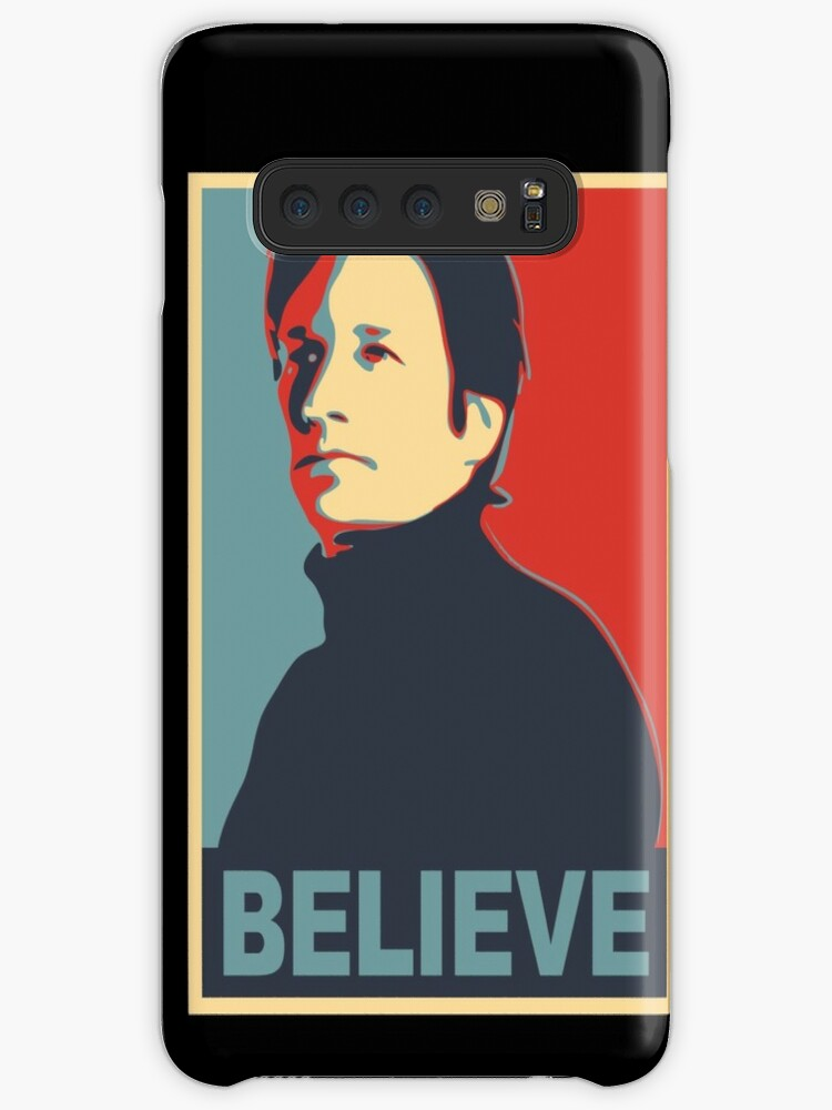 'FOX MULDER BELIEVE' Case/Skin for Samsung Galaxy by TheRents