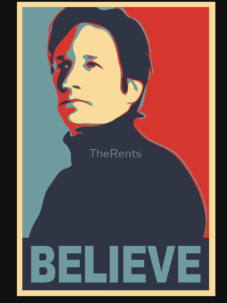 FOX MULDER BELIEVE by TheRents