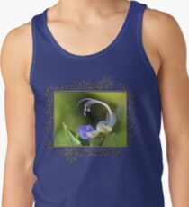 Clerodendrum Ugandense or Blue Butterfly Bush Tank Top
