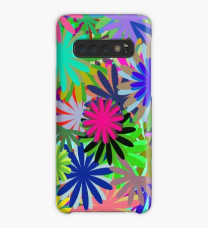 Meadow of Colorful Daisies Case/Skin for Samsung Galaxy