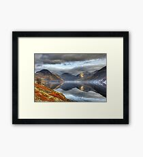 Wastwater and the Wasdale Fells Framed Print