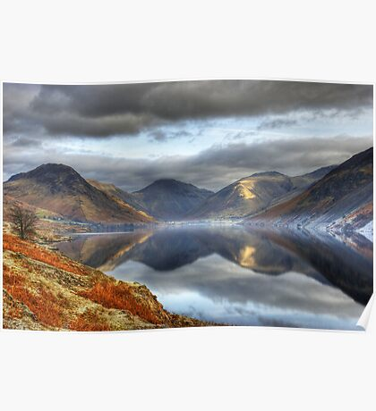Wastwater and the Wasdale Fells Poster
