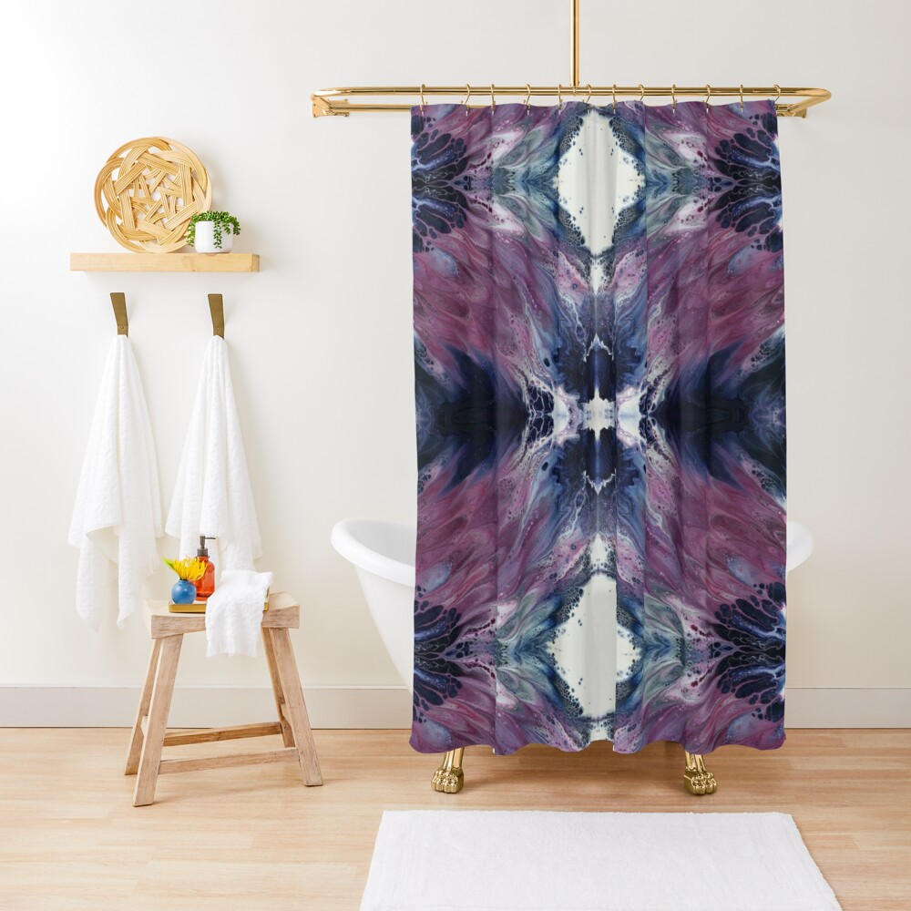 The Sound of Wings Shower Curtain