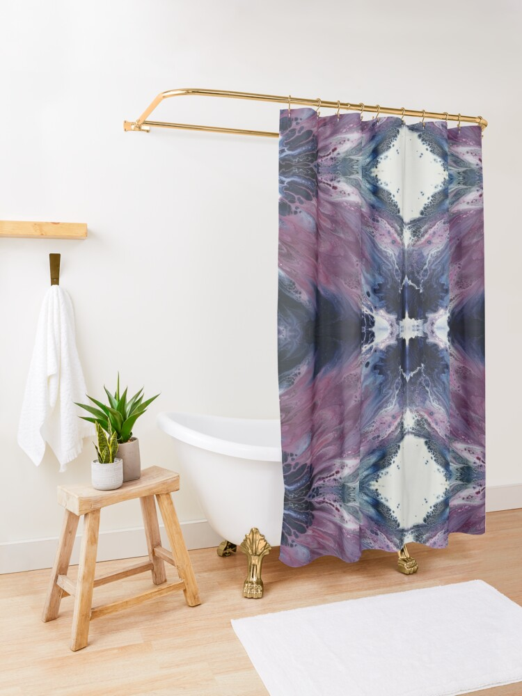 Alternate view of The Sound of Wings Shower Curtain
