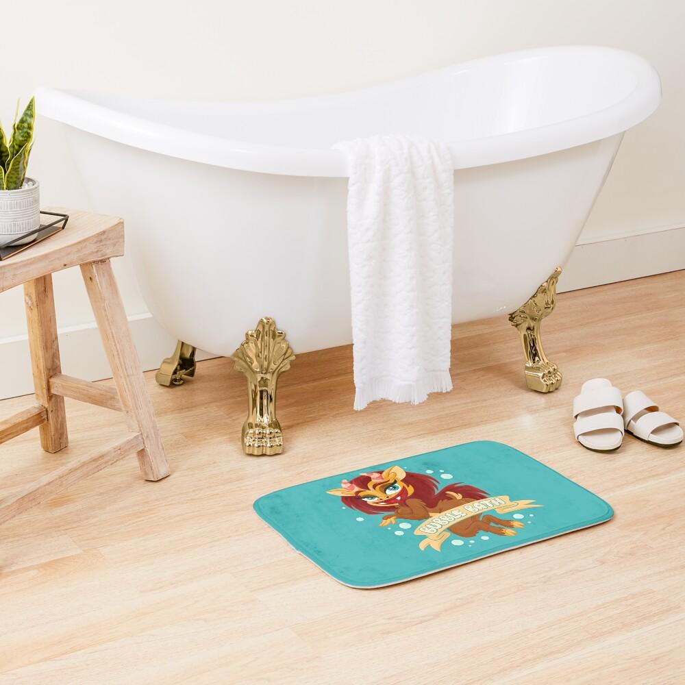 Bubble Bath Bath Mat