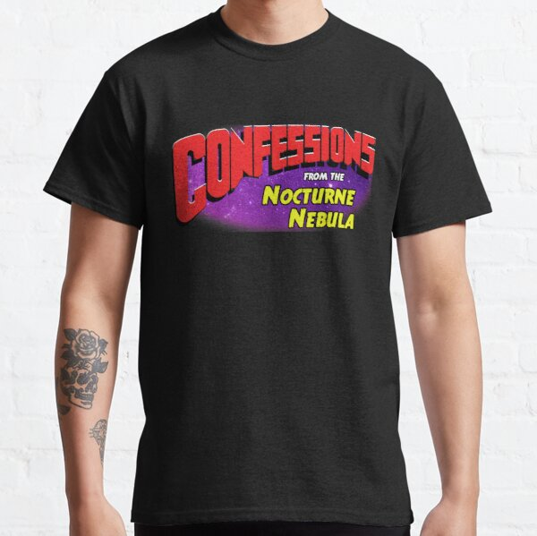 Confessions from the Nocturne Nebula Title Classic T-Shirt