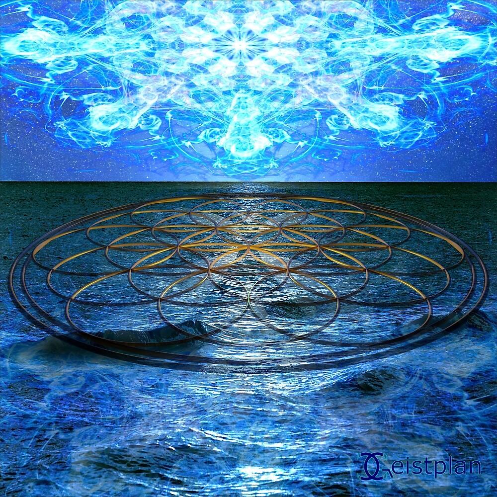 Mandala des Aufstiegs von Geistplan