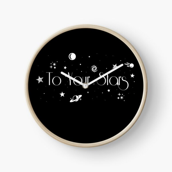 To Your Stars Clock