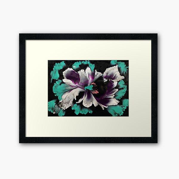 White Orchid Too Framed Art Print
