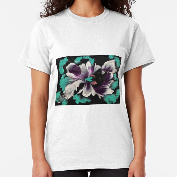 White Orchid Too Classic T-Shirt